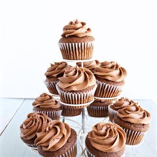 Chocolate Nutella Cupcakes