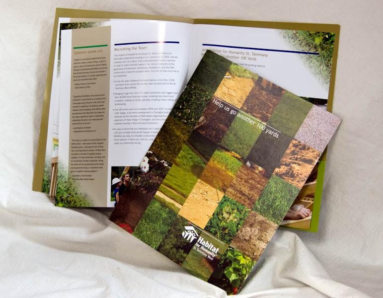 Photo: Habitat for Hummanity Brochures