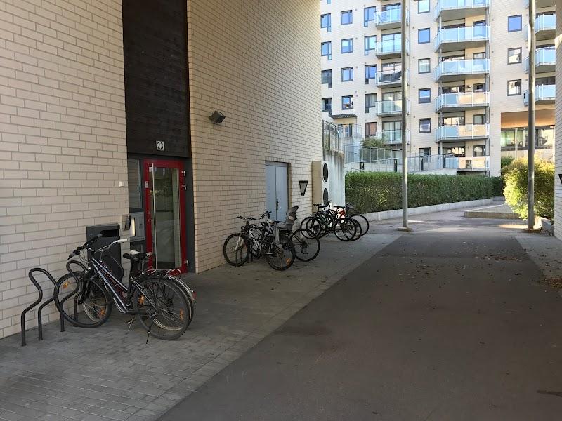 Oslo, bike parking