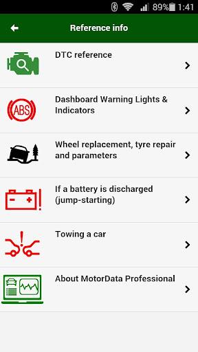 MotorData OBD Car Diagnostics. ELM OBD2 scanner  screenshots 3