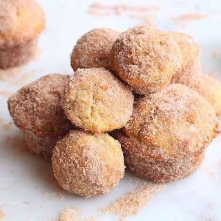 Mini Brown Butter Donut Muffins