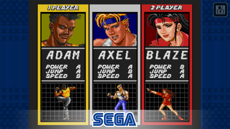 Streets of Rage Classic Screenshot 0