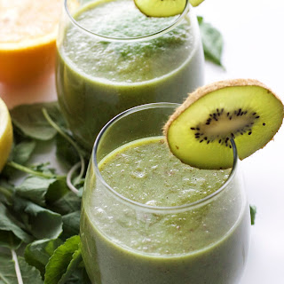 Green Vitamin C Smoothie.
