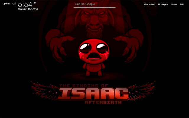 The Binding Of Isaac Wallpapers Hd New Tab
