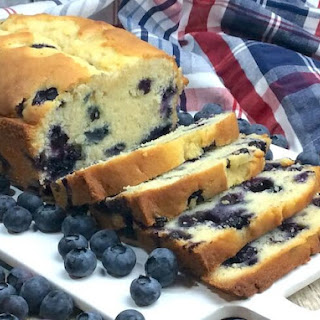 Fresh Blueberry Loaf.