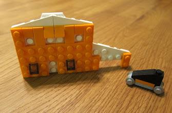 Photo: A house and car.