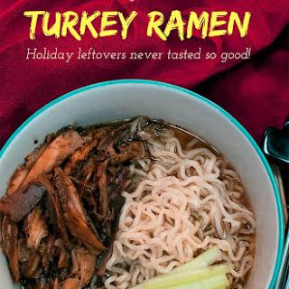 Leftover Turkey Ramen