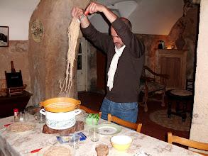 Photo: A table... La pasta est prête !