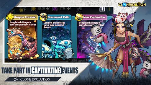 Clone Evolution: Cyber War-Borderlands Fantasy 1.4.9 screenshots 1