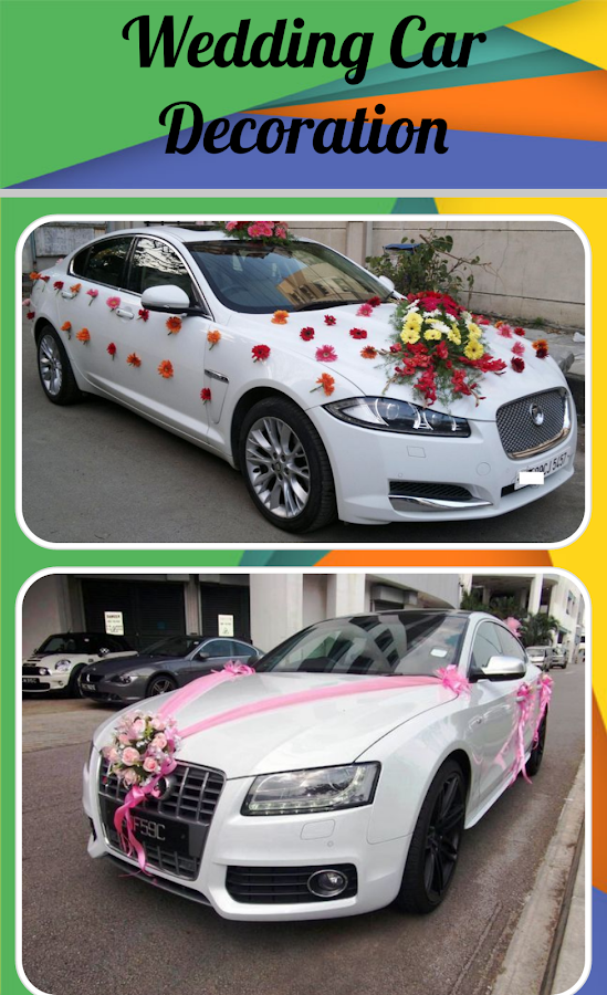 Wedding car decoration android apps on google play wedding car decoration screenshot junglespirit Choice Image
