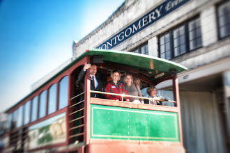 Photo: The Excelsior Springs Chamber of Commerce trolly.