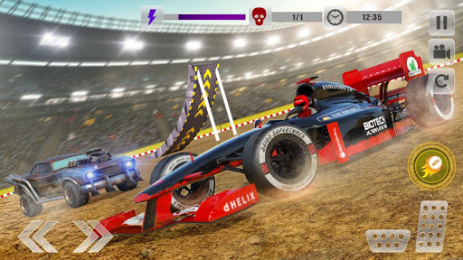 Formula Car Crash Demolition Stunt Arena 1.2 screenshots 2