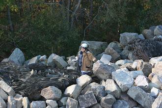 Photo: One of many evaluators