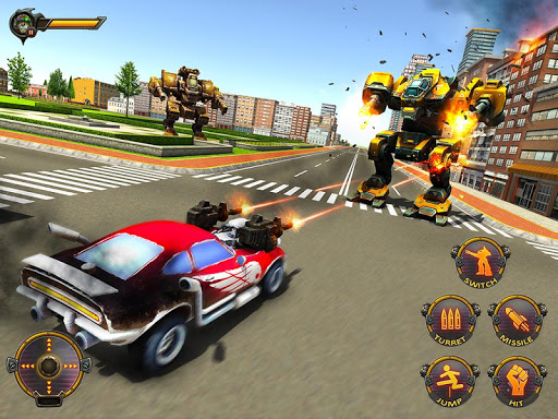 Robot Car War Transform Fight  screenshots 13