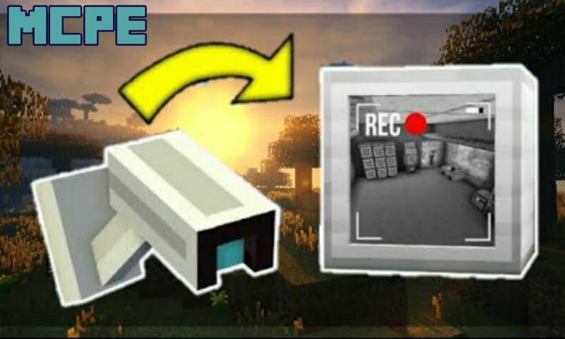 Mod De Cámara De Seguridad Para Minecraft Pe Para Android Apk Descargar