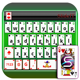 SlideIT Blackjack Cards Skin