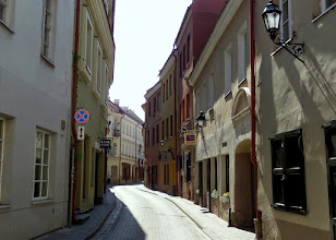 Photo: This is the quietest of the capitals we visited.  Archways to the right open to lovely courtyards.