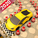 Modern car parking 3d : fun car parking games icon