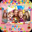 Birthday Video Maker 2020 : Birthday Wish Maker icon