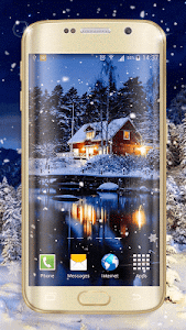 Winter Night Live Wallpaper screenshot 3