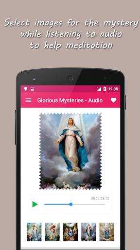 玩免費書籍APP 下載Holy Rosary With Audio app不用錢 硬是要APP