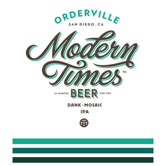 Logo of Modern Times Orderville Mosaic IPA