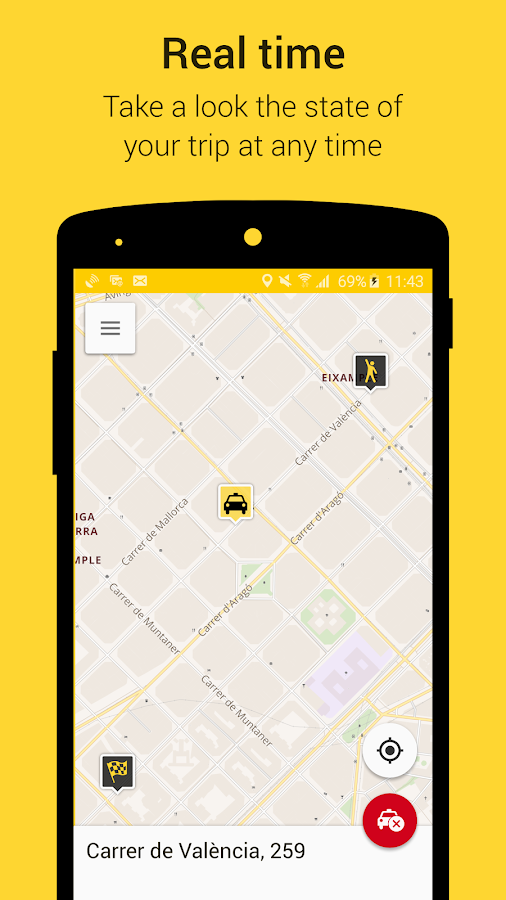 TaxiClick- screenshot