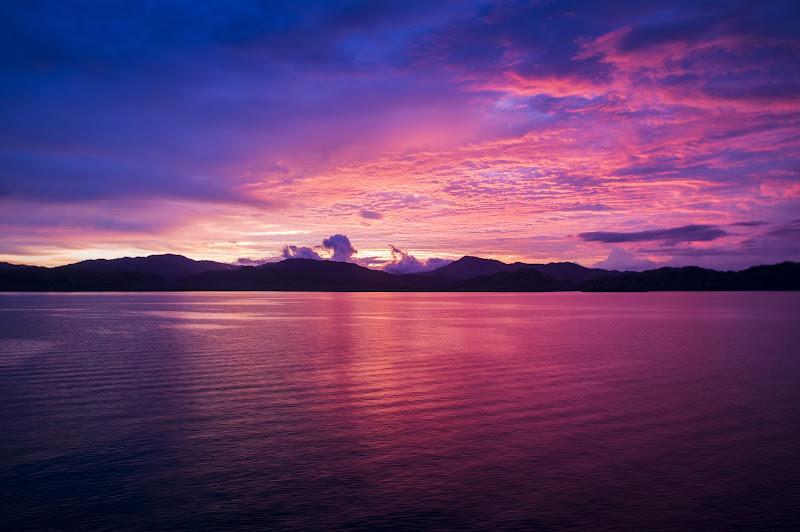 costa rica's sunset di leonardo_pasqua