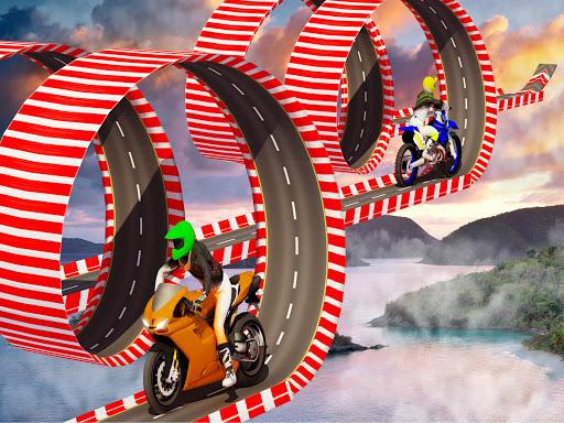 Stunt Bike Impossible Tracks-Race Moto Drive Game image | 8