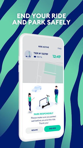 TIER: e-scooter sharing & more  screenshots 5