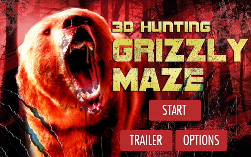 3D Hunting Grizzly Maze
