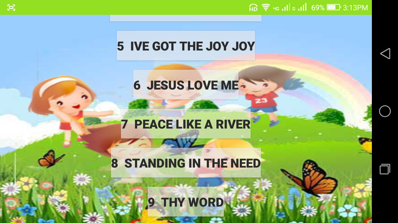 bible songs for kids android apps on google play