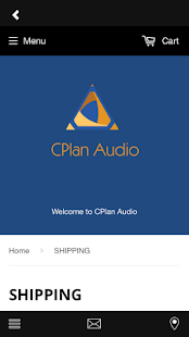 CPlan Audio Store- screenshot thumbnail