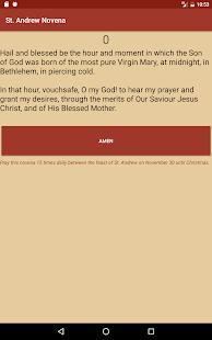 St. Andrew Novena - náhled