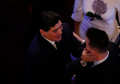 Officiel : Lionel Messi est sanctionné pour son hommage à Diego Maradona !