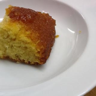 Baked Syrup Sponge Pudding.