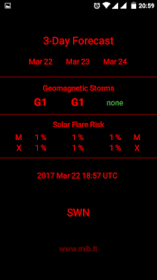 Space Weather Now- screenshot thumbnail