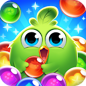 Chicken Bubble Splash - Pop Shooting Game