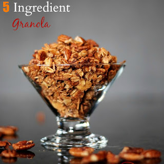 5 Ingredient Cinnamon Granola.