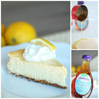 Lemon Cheesecake with Wholesome!