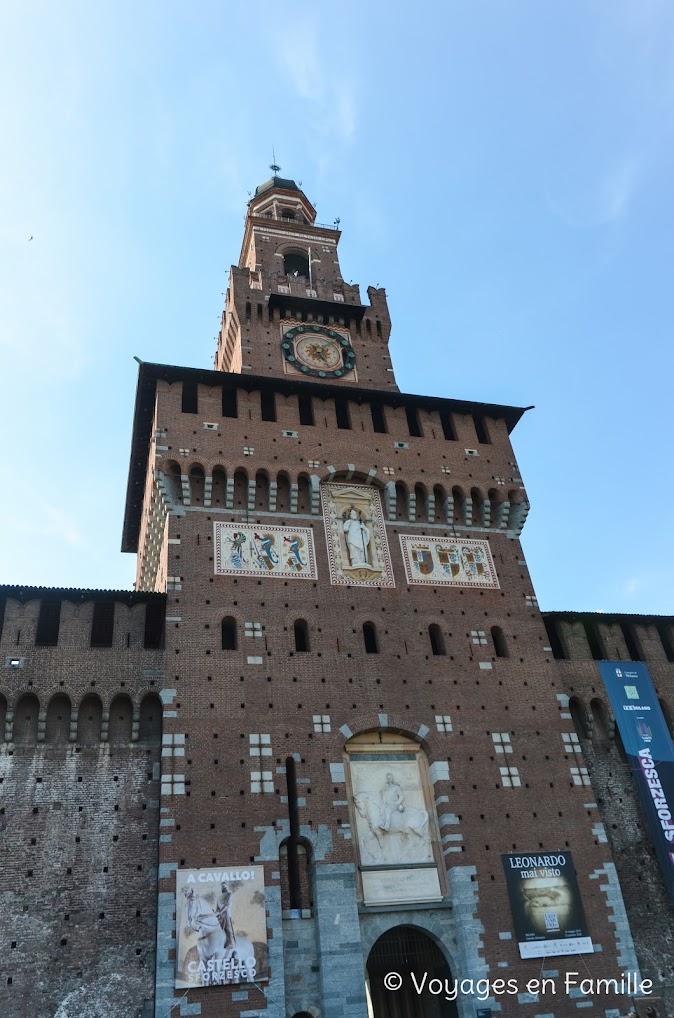 Milan Castello Sforsezco