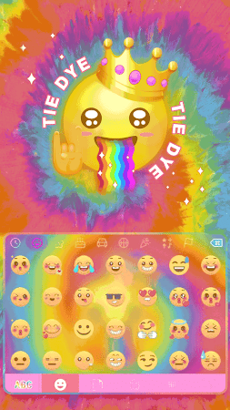 Tie Dye Themefor Kika Keyboard 36.0 screenshot 903578
