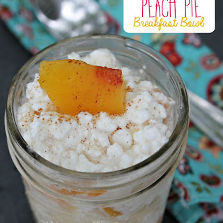 Peach Pie Breakfast Bowl