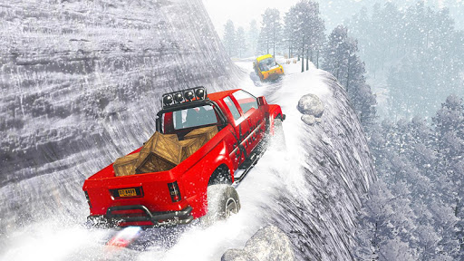 Snow Truck Simulator: Off Road Monster Truck Games android2mod screenshots 13