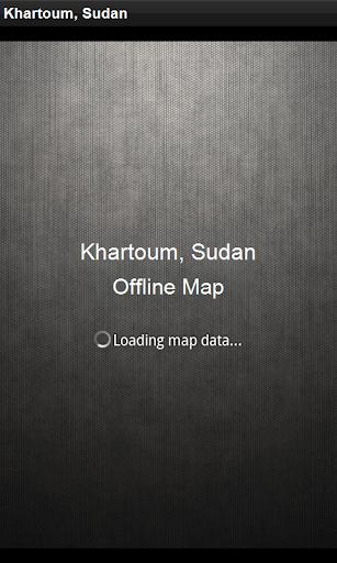 離線地圖 喀土穆,蘇丹