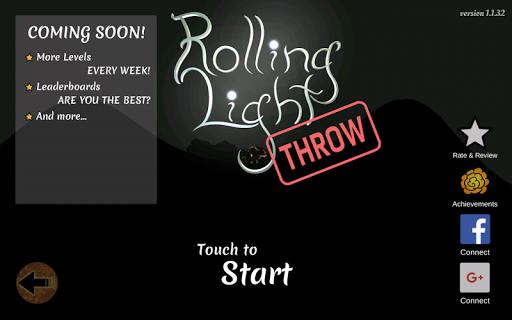 Rolling Light Throw