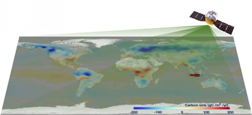 China's carbon-monitoring satellite reports global carbon net of six gigatons