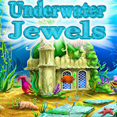 Underwater jewel match 3