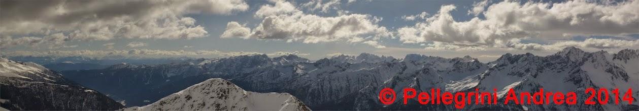 Photo: Panorama 13 dalle Dolomiti al Brenta da Cima Forzellina