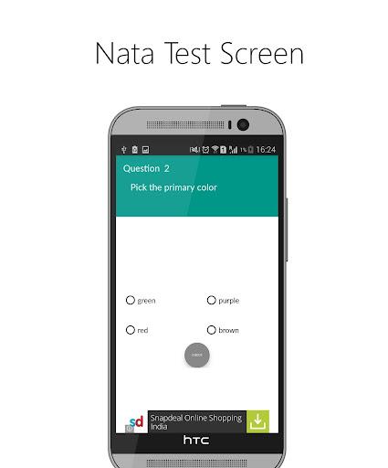 NATAapp- Aptitude made easy